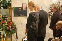 S ROMANEM KOBELÁKEM, jednou ze tří obětí nehody u Studénky, se příbuzní a známí rozloučili v Mariánských Lázních.