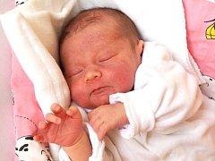 ELIŠKA TŮMOVÁ se narodila ve středu 4. prosince v 7.07 hodin. Na svět přišla s váhou 3 140 gramů a mírou 48 centimetrů. Doma v Aši se z malé Elišky těší sestřička Linda, maminka Kristýna a tatínek Roman.