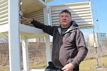 Na chebské profesionální meteorologické stanici se konal den otevřených dveří.