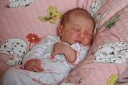 MÁRIA JAROSLAVA KINDLOVÁ se narodila vneděli 31. prosince v4.30 hodin. Při narození vážila 3500 gramů. Doma vHranicích se zmalé Marušky těší bráškové Martin sDavidem, maminka Ludmila a tatínek Miroslav.