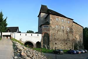 Skalenský hrad Vildštejn.
