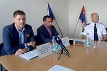 Generální ředitel Českých drah Václav Nebeský společně se zástupci Karlovarského kraje představil novou mobilní aplikaci, která pomůže strojvedoucím na tratích s nejnižším stupněm zabezpečení provozovaným podle předpisu D3 Správy železnic.