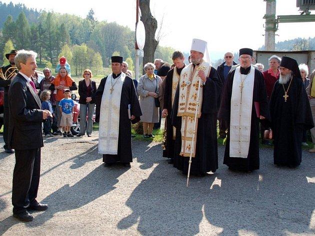 V Doubravě se světil Pramen století.