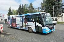 Elektrobus v Mariánských Lázních.