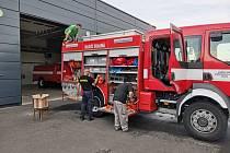 Dobrovolní hasiči ke Skalné neodmyslitelně patří.
