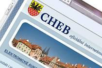 Webové stránky města Chebu.