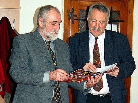 Pavel Vanoušek (vlevo) a Milan Taraba