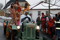 Masopustní oslavy ve Skalné na Chebsku