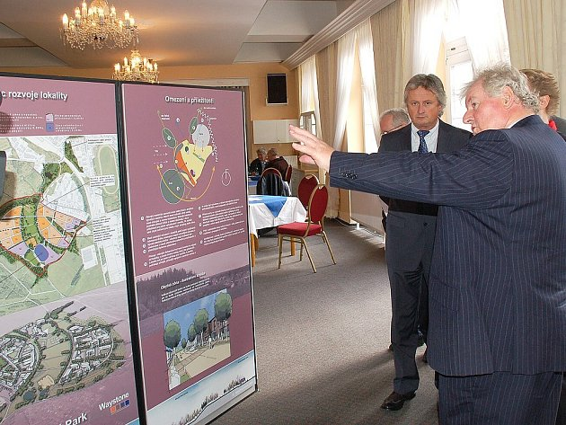 Představení studie na revitalizaci kasáren v Mariánských Lázních - Hamrníkách