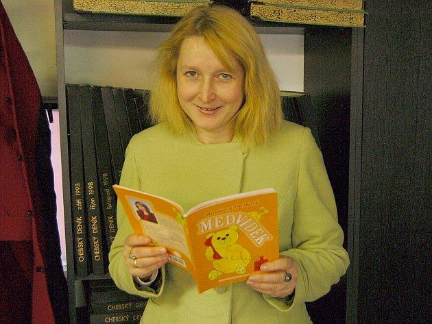 SPISOVATELKA MIROSLAVA THEIßOVÁ z Chebu představila svou knihu Medvídek. Prozradila také další tvůrčí plány.