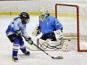 Na zimním stadionu v Chebu se uskutečnil mezinárodní hokejový turnaj – třetí ročník Hrášek Cupu hráčů nad pětatřicet let.
