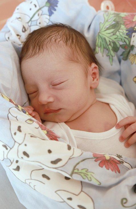 PATRIK SRNKA se poprvé rozkřičel v úterý 27. srpna v 16.25 hodin. Při narození vážil 2 790 gramů. Z malého Patrička se těší doma v Chebu maminka Klaudie a s ní celá rodina.