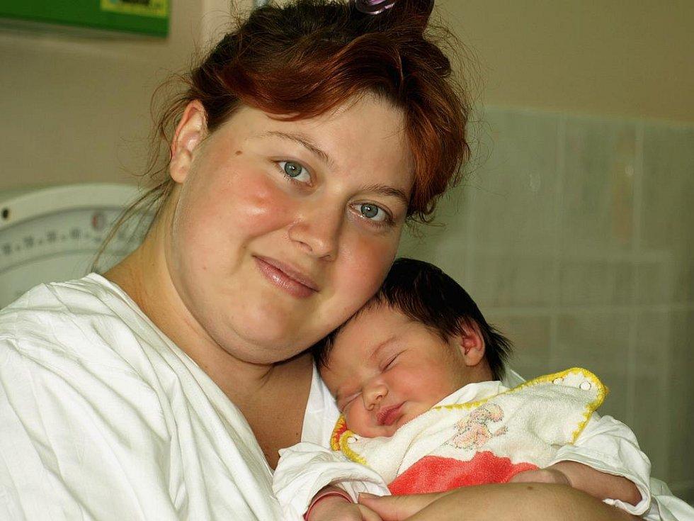 BARBORA BUDISKÁ  bude mít v rodném listě datum narození pátek 21. května v 10.52 hodin. Barborka vážila 3 900 gramů a měřila 52 centimetrů. Doma v Kamenném Dvoře se radují z malé sestřičky Jarmilka s Ludíkem, maminka Jarmila spolu s tatínkem Luďkem.