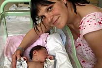 JAN LÍPA přišel na svět ve středu 26. května v 7.40 hodin. Při narození vážil 3 340 gramů a měřil 52 centimetrů. Na malého Honzíka a maminku Janu se už doma v Chebu těší sestřička Danielka a tatínek Tomáš.