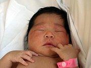 MARALERDENE DASHTSEREN, holčička, přišla na svět v sobotu 22. května v 7.55 hodin. Vážila 3 500 gramů a měřila 49 centimetrů. Doma v Aši se z malé dcerky těší maminka Erdene Bolor s celou rodinou.