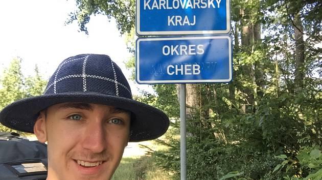 Sedmnáctiletý Maxim Havlík si splnil sen. Ušel 600 kilometrů.