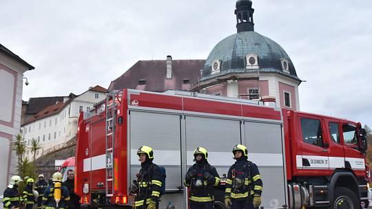 Hasiči pravidelně uskutečňují cvičení zaměřené na požáry památek. Navíc vyvíjí i unikátní aplikaci, která by v případě požáru výrazně pomohla při zásahu.