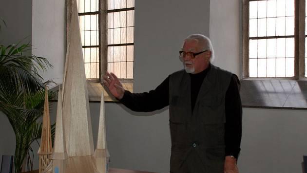 Architekt Luděk Vystyd