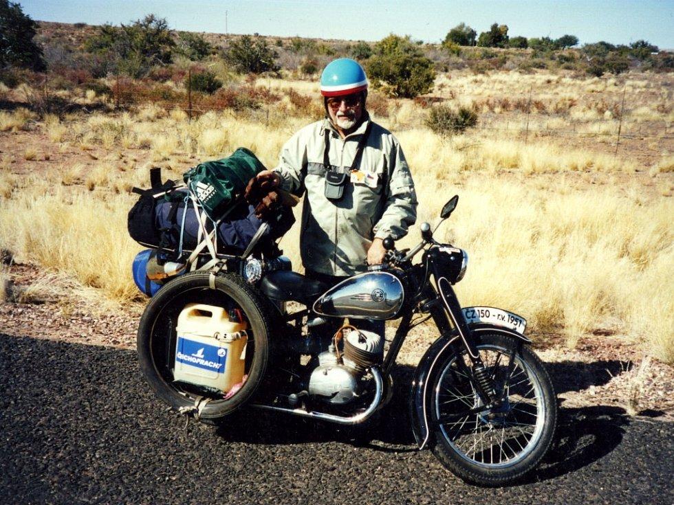 Jiří Pavlík v Namibii