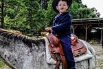 Sedmiletý Nicolas.
