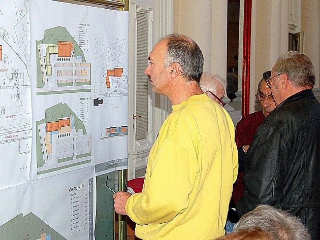 O plány nového obchodního centra ve Františkových Lázních byl eminentní zájem