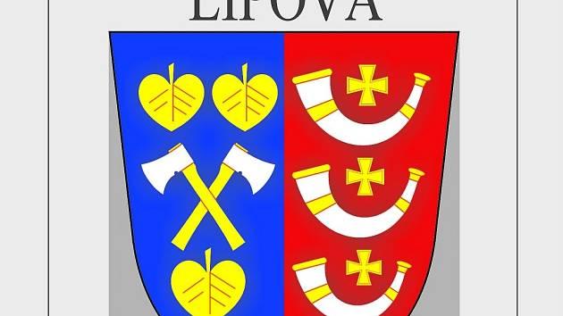Znak obce Lipová u Chebu