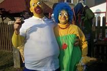 Do Milíkova dorazil Homer i celá rodinka z Mrazíka