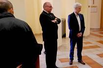 Jiří Červenka a Dalibor Blažek opět museli k chebskému soudu.