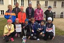 V hradebním příkopu vedle polikliniky Astra se v úterý 19. října konalo krajské kolo přespolního běhu pro základní školy.