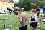 Klášter v Teplé zažil astronomický den.