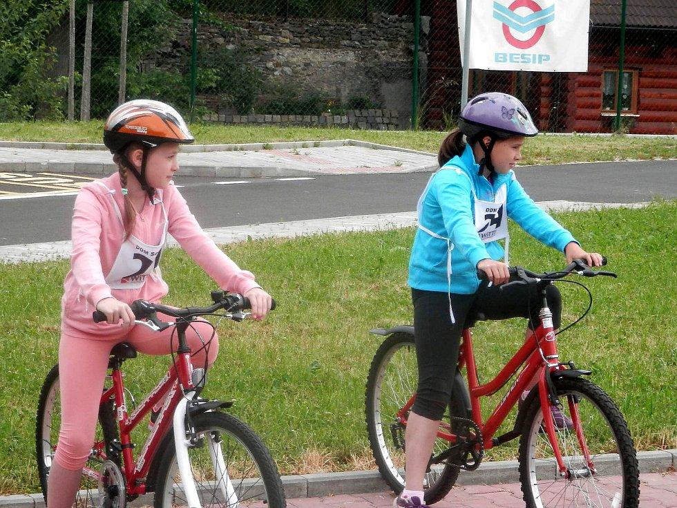 Malí cyklisté se mohou pochlubit řidičáky