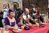 Valdštejnské slavnosti 2008 na Chebském hradě