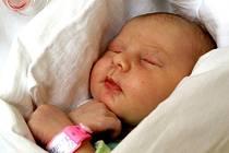 IVA ČERNÍKOVÁ se poprvé rozkřičela v sobotu 24. července v 19.20 hodin. Na svět přišla s váhou 3500 gramů a mírou 50 centimetrů. Bráška Lukášek, maminka Jitka a tatínek Martin se těší z malé Ivičky doma v Chebu.