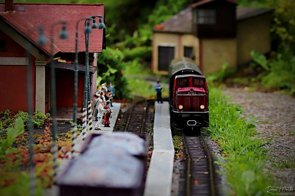 Z parku miniatur. Foto: Robert Moutelík