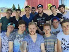 Snímek z turnaje Nisa Open v Liberci, kterého se junioři USK Akademik Cheb účastnili.