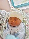 ANDREJ PASTOREK se narodil 24. dubna v 9:15 mamince Zuzaně a tatínkovi Václavovi z Chebu. Po příchodu na svět v plzeňské fakultní nemocnici vážil jejich prvorozený syn 2770 gramů a měřil 47 centimetrů.