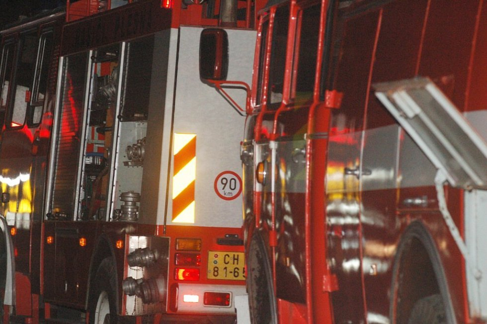 V noci ze soboty na neděli 30. března museli hasiči likvidovat požár stodoly v obci Mlýnek u Nového Kostela na Chebsku