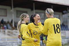 Radost chebských fotbalistek