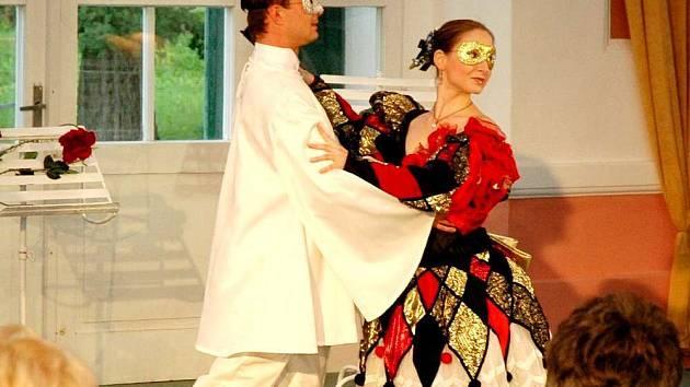 Ve františkolázeňském pavilónu Lučního a Solního pramen byl k vidění neobvyklý koncert s baletem