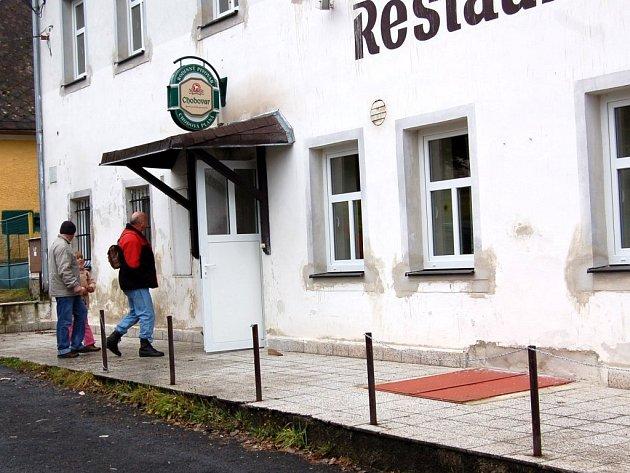 Restaurace v Mnichově u Mariánských Lázní