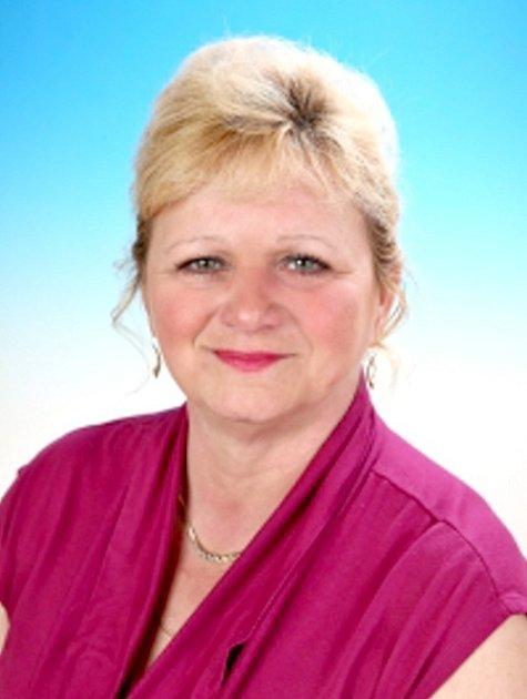 Helena Kobrová, místopředsedkyně Okresního kolegia AVZO TSČ Cheb.