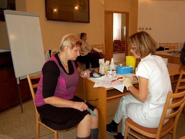 Den zdraví v Chebu připravila VZP v prostorách hygienické stanice