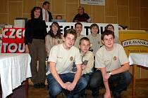 Slavnostní předávání cen na závěr mezinárodního šachového festivalu v Mariánských Lázních