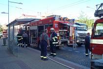 Při požáru se zranili dva muži