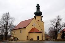 Kostel sv. Jakuba Většího v Pomezí nad Ohří