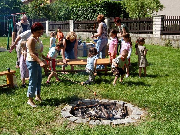 Oslava Dne dětí ve stacionáři Mája v Chebu