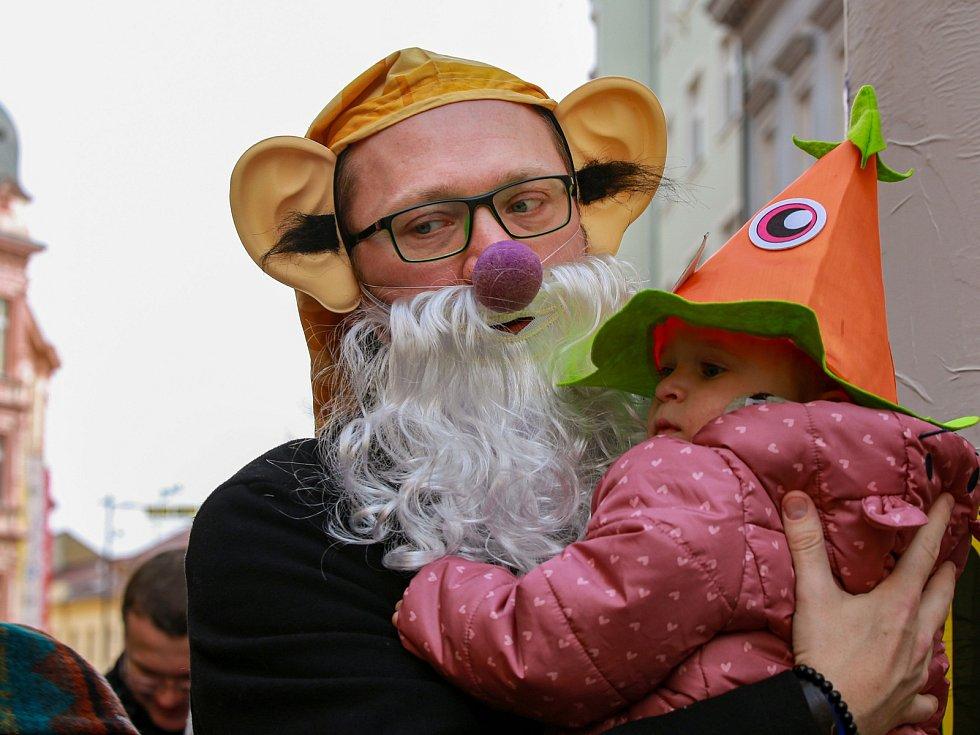 Uplynulé ročníky Chebského masopustu.