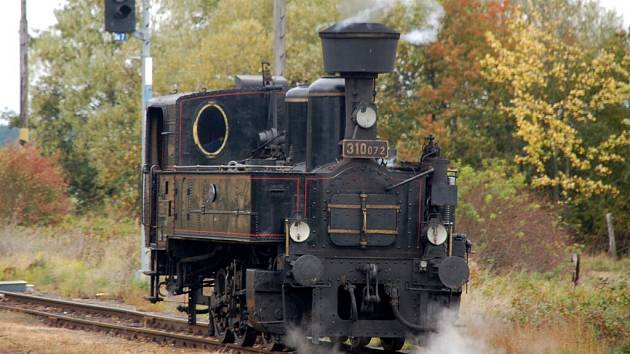 Parní lokomotiva řady 310 Kafemlejnek