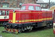 Motorová lokomotiva řady T 444 Karkulka