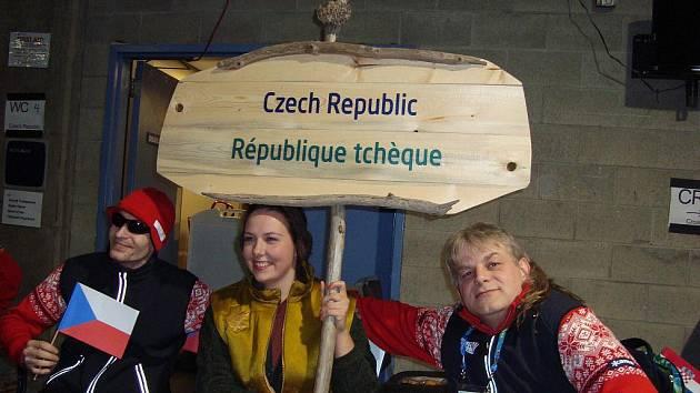 MIROSLAV HRBEK Z CHEBU na paralympijském turnaji v zápase s Koreou.